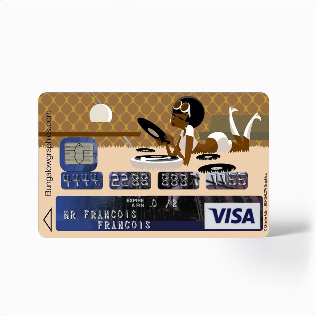 credit card sticker - Stereo