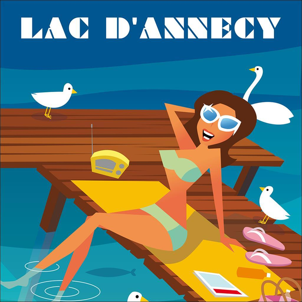 Lac Annecy Pinup