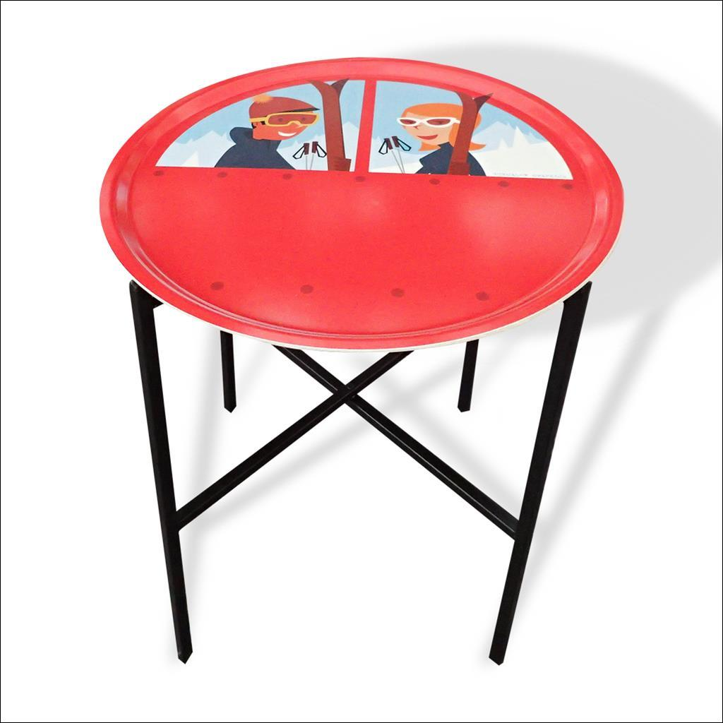 Telecabine - Plateau/table