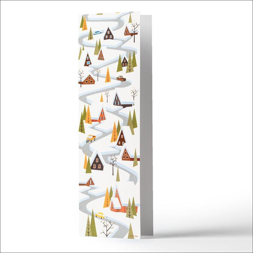 Winter roads - Greetings cards