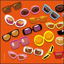 Sunglasses - Mousemat