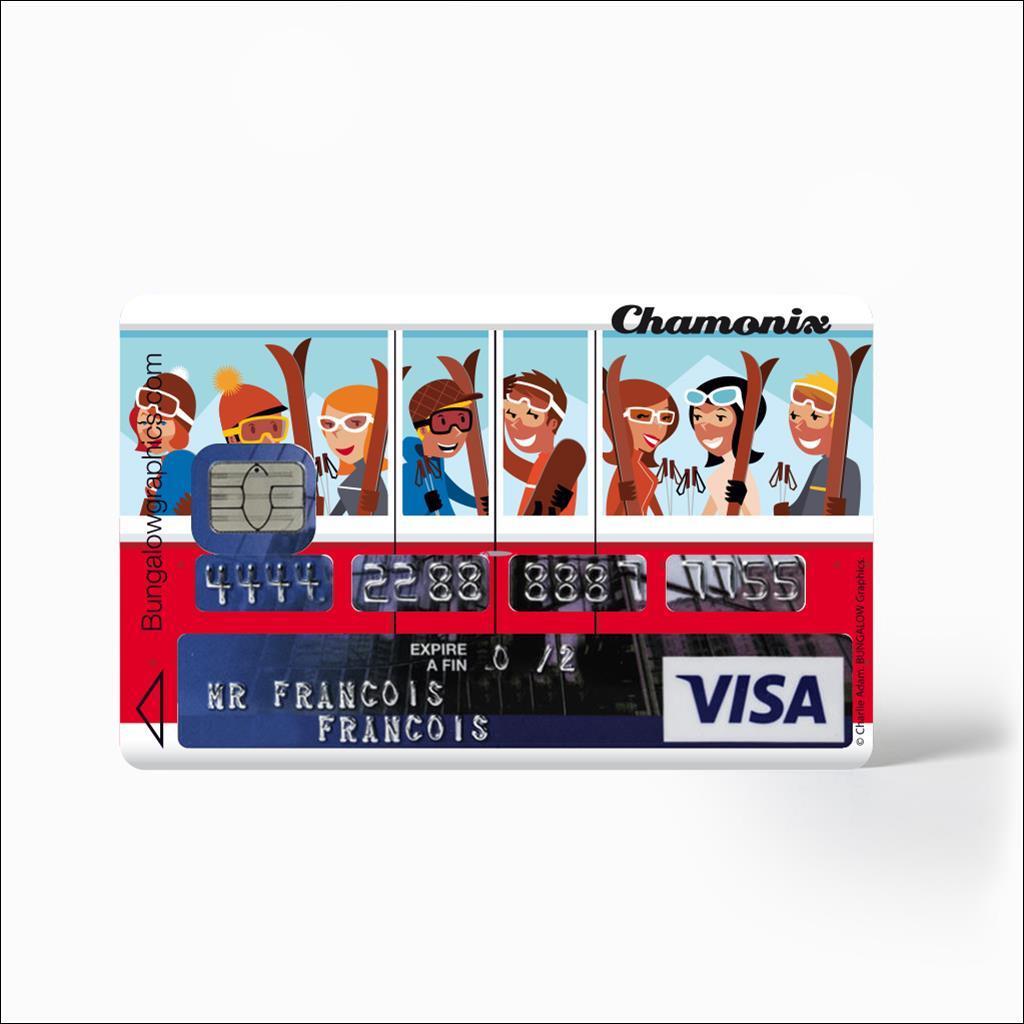 Sticker Carte Bleu - La Benne CHX