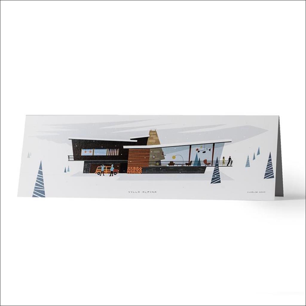 Villa Alpina - Greetings card