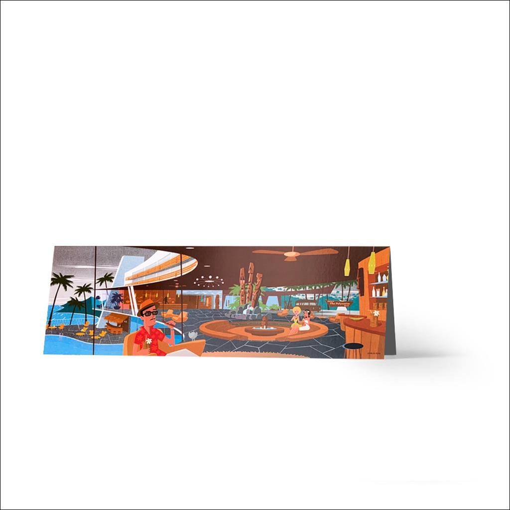 Hotel Polynesian - Greetings card