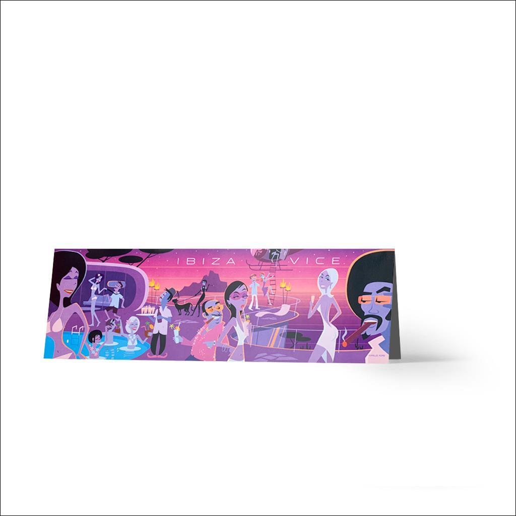 Ibiza Vice - Greetings card