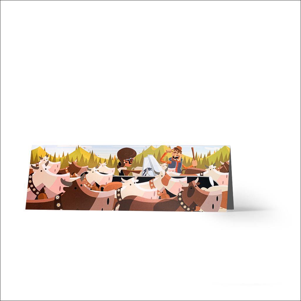 Poya - Greetings card
