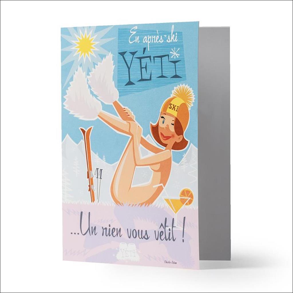 Yetiboots - Carte de Voeux