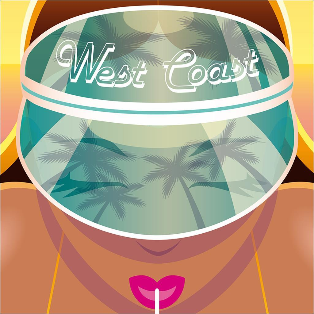 West coast visor