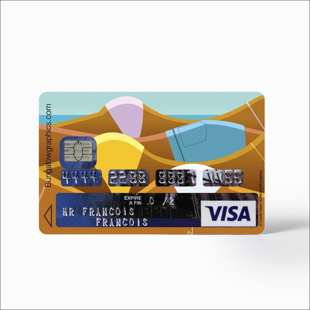 Sticker carte bancaire - Beachbums