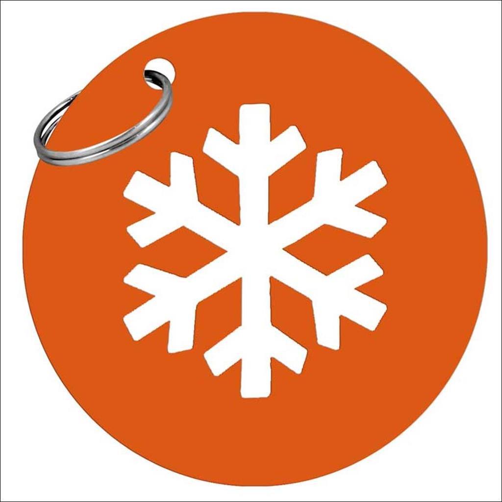 Porte Clés métal - Orange