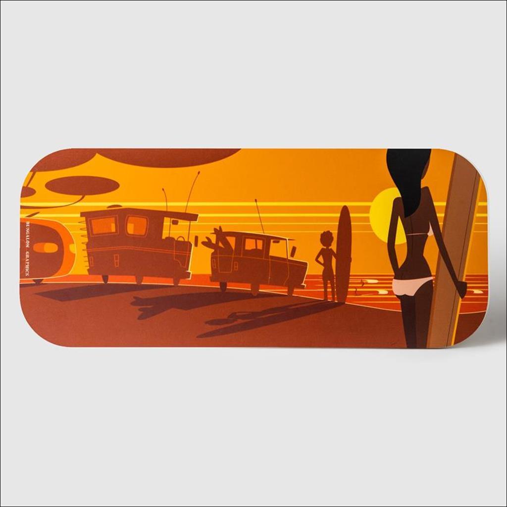 Planche à découper -Surf camp