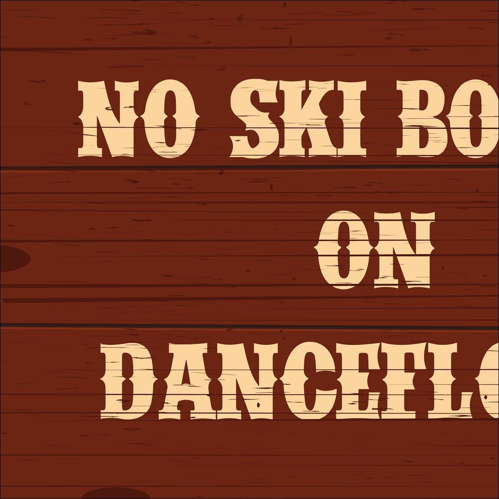 No ski boots