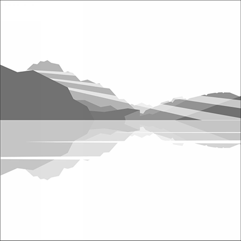 Annecy morning / Noir et blanc