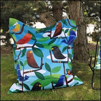 BUNGA BAG Spring birds