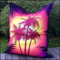 BUNGA BAG Sunset palms