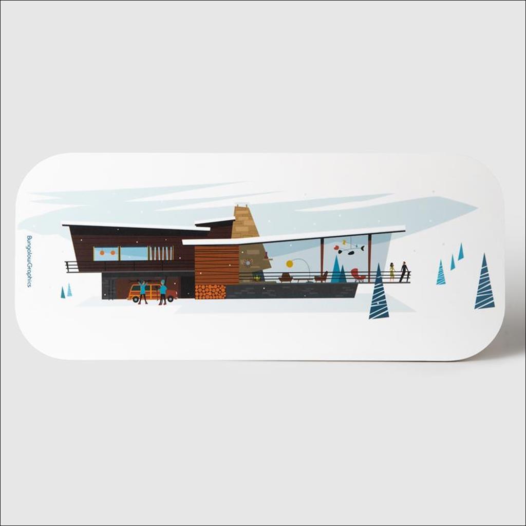 Planche à découper - Villa alpina
