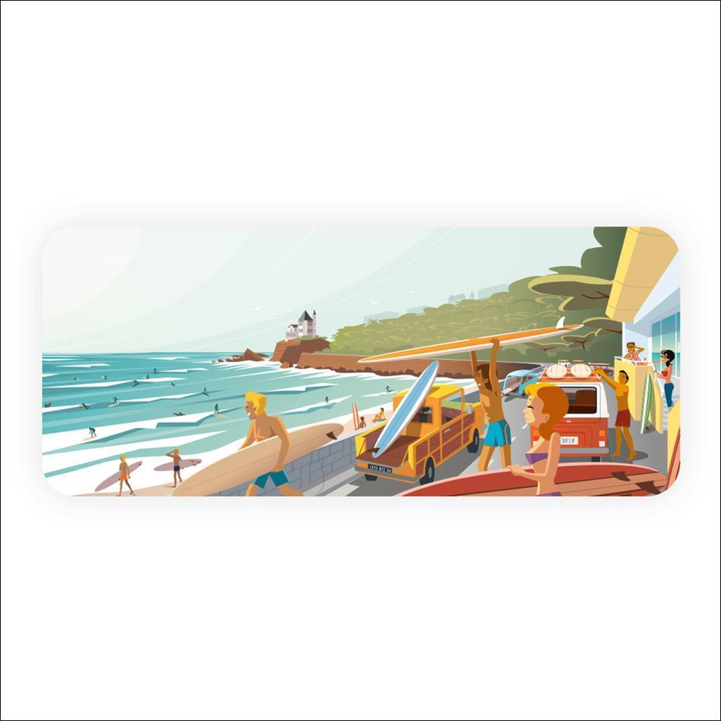 Planche à découper -Surf's up