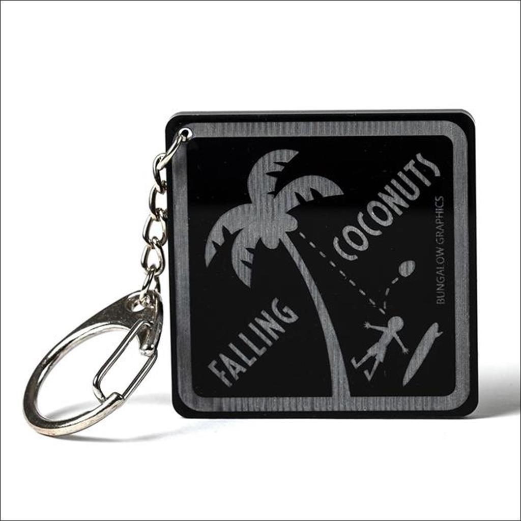 Porte clé Falling coconuts