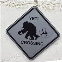 Porte clé Yéti crossing
