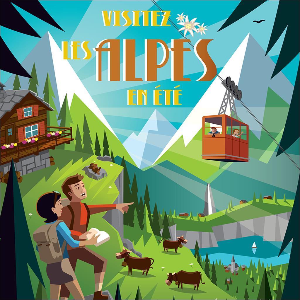 Visitez les Alpes en été