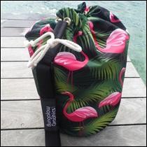 Sac matelot Grand modèle Flamingos