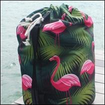 Sac matelot Petit modèle Flamingos