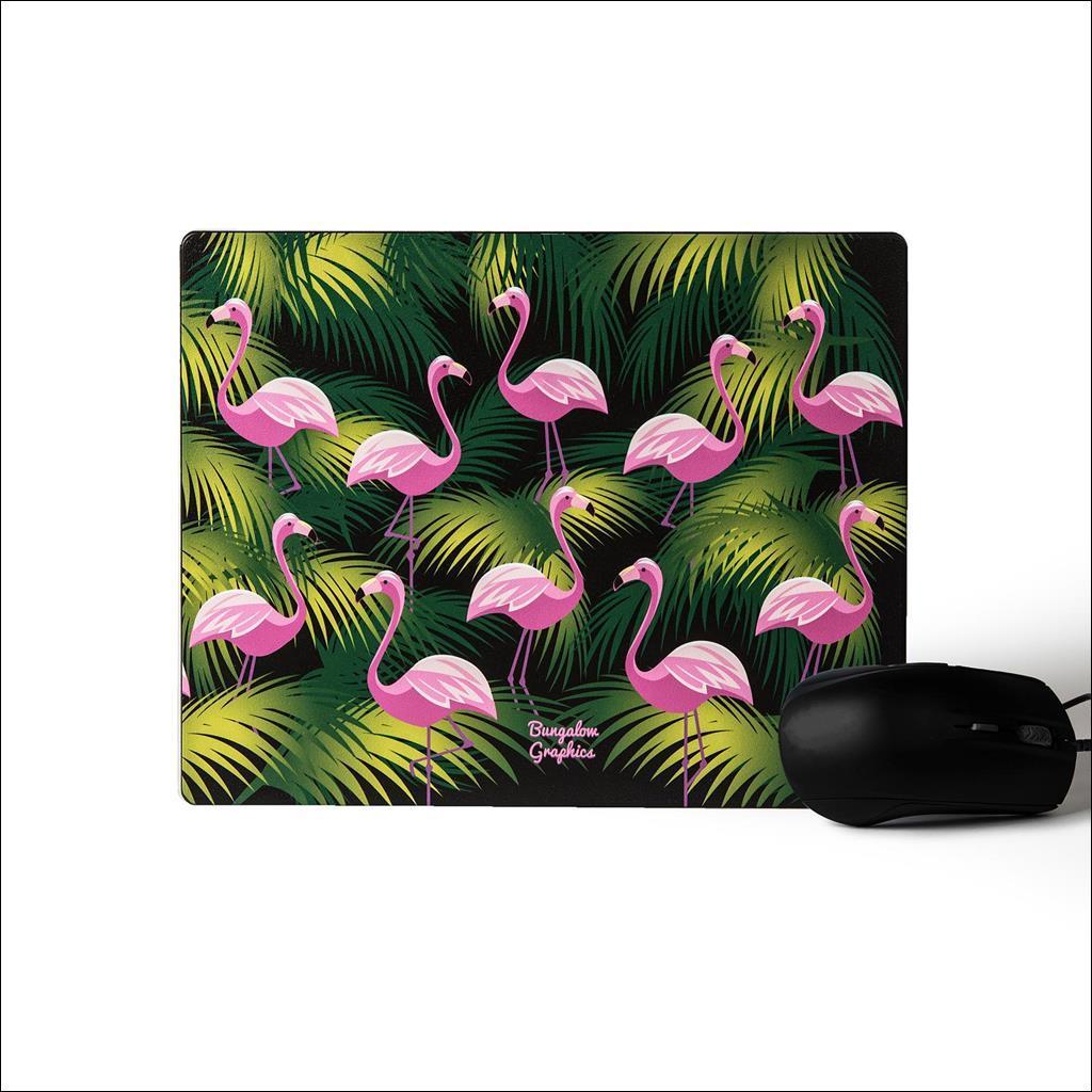 Tapis de souris - Flamingos