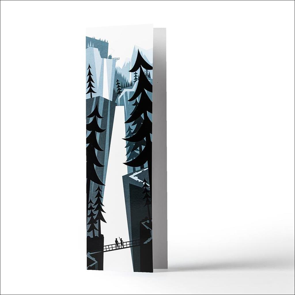 Cascades Carte de Voeux
