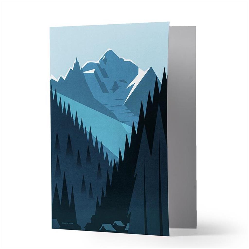 Mont Blanc Carte de Voeux