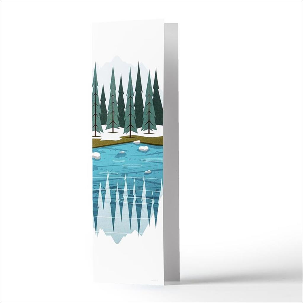 Lac Vert Carte de Voeux