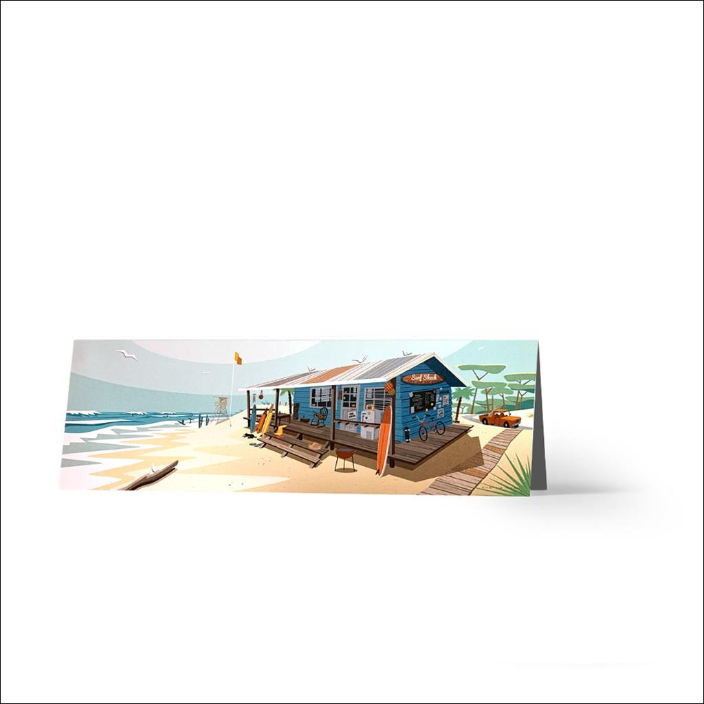 Surf Shack Carte de Voeux