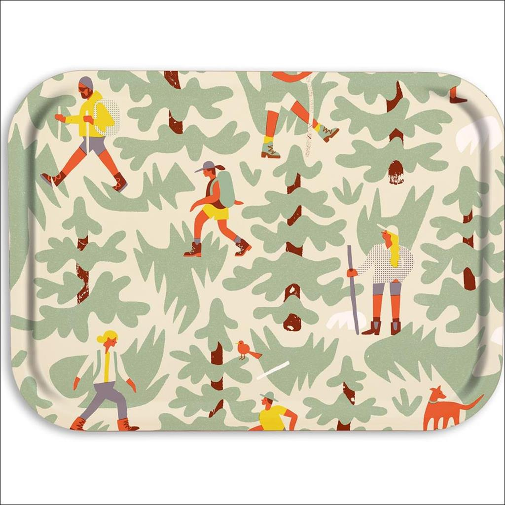 Hikers Wooden Tray