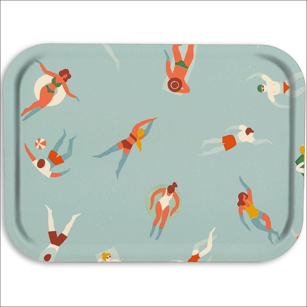 Swimmers Wooden Tray