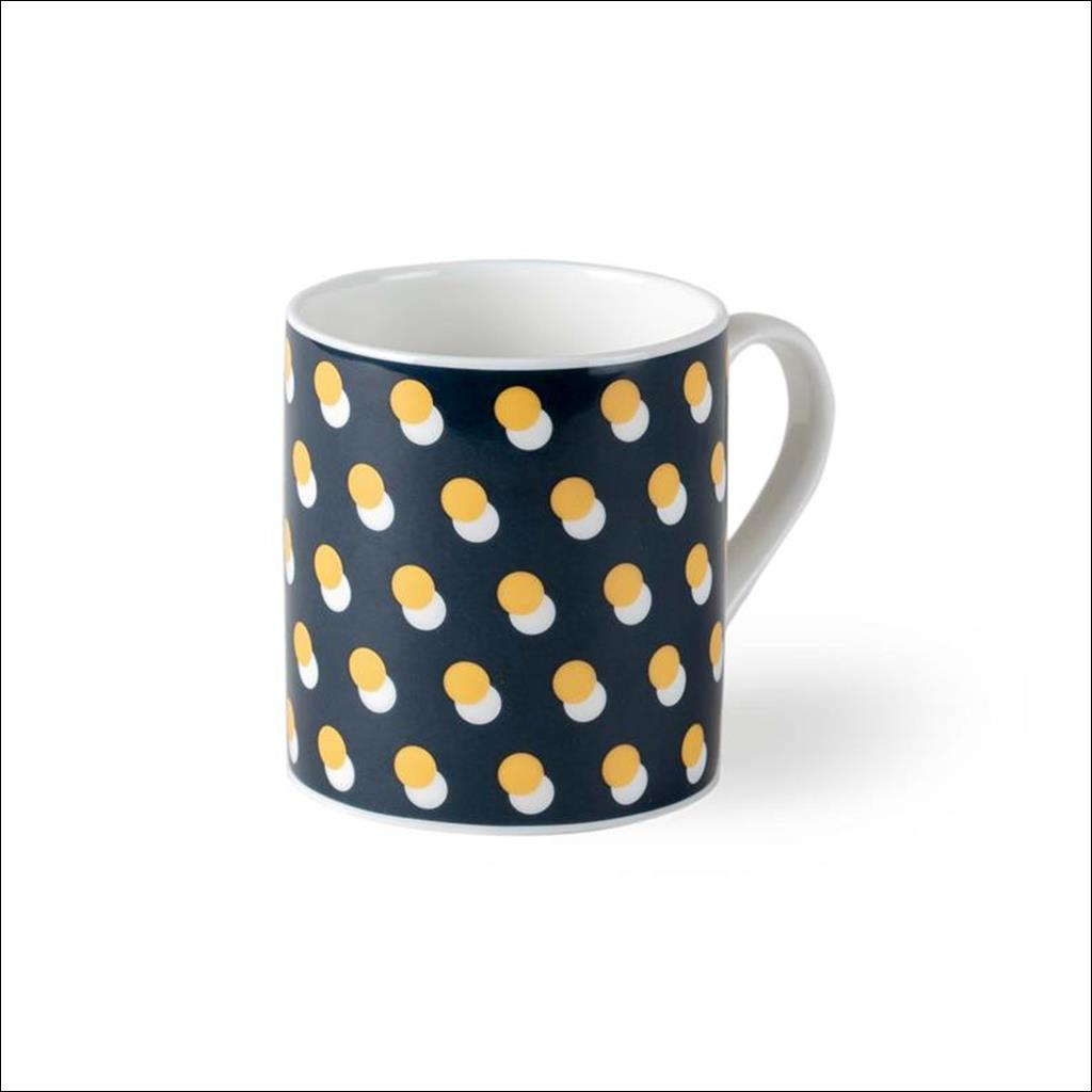 Dot on Teal Mug