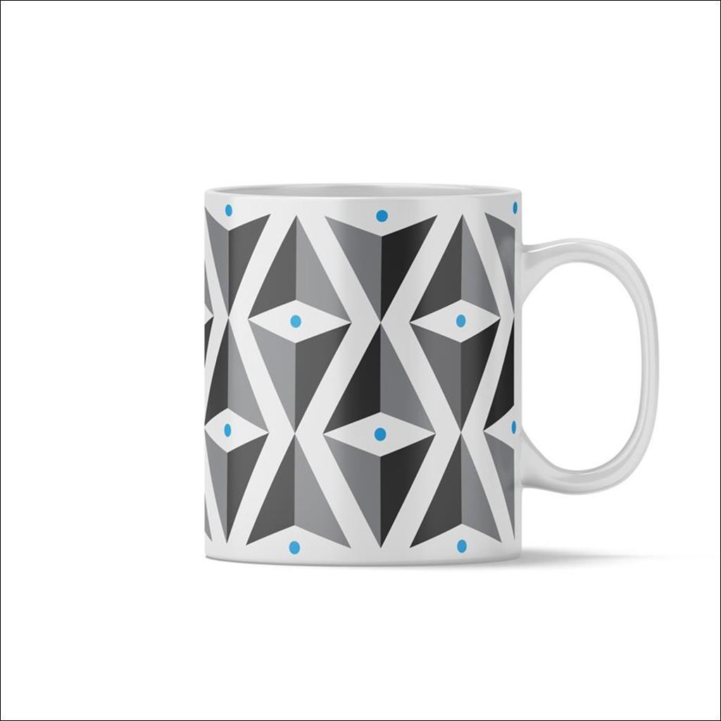 Mug Triangle Bleu