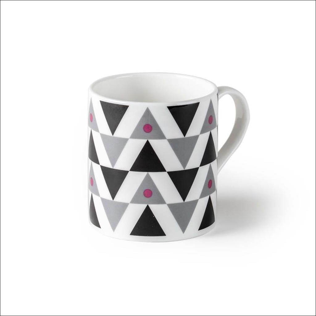 Pink Sml Triangle Mug