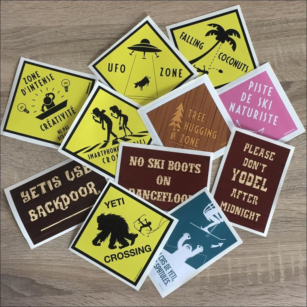 Lot stickers 2018