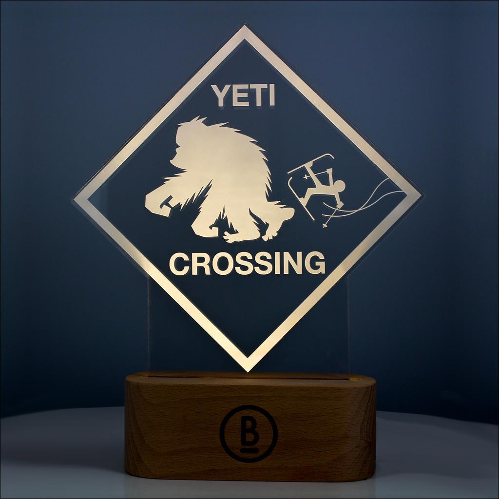 Lamp Yeti Crossing