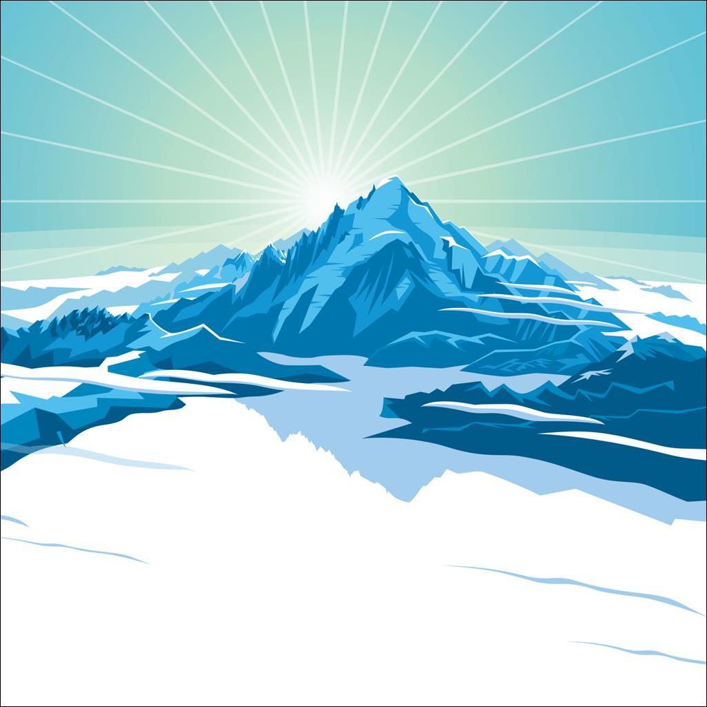 Mont Blanc France (sans texte)