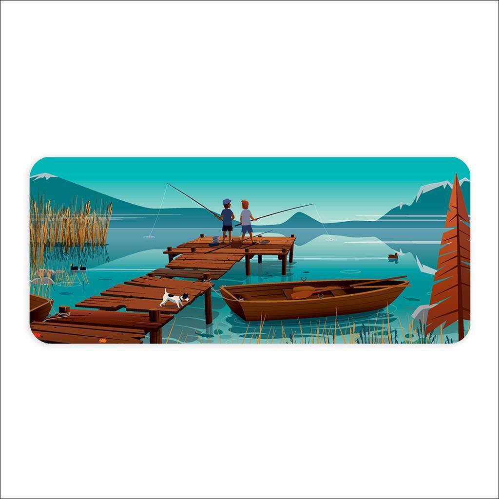Planche à découper - Vieux ponton Annecy