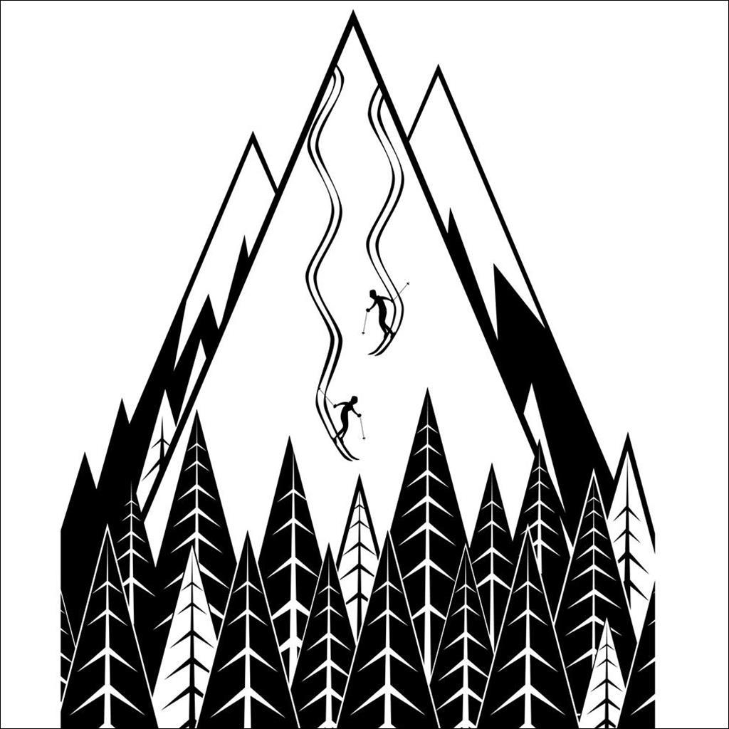 torchon ski tracks