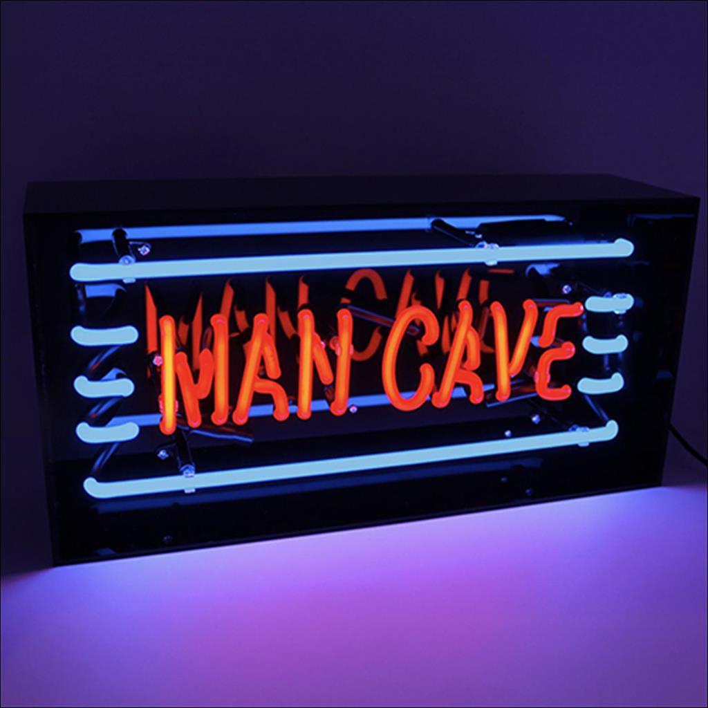 Neon man cave