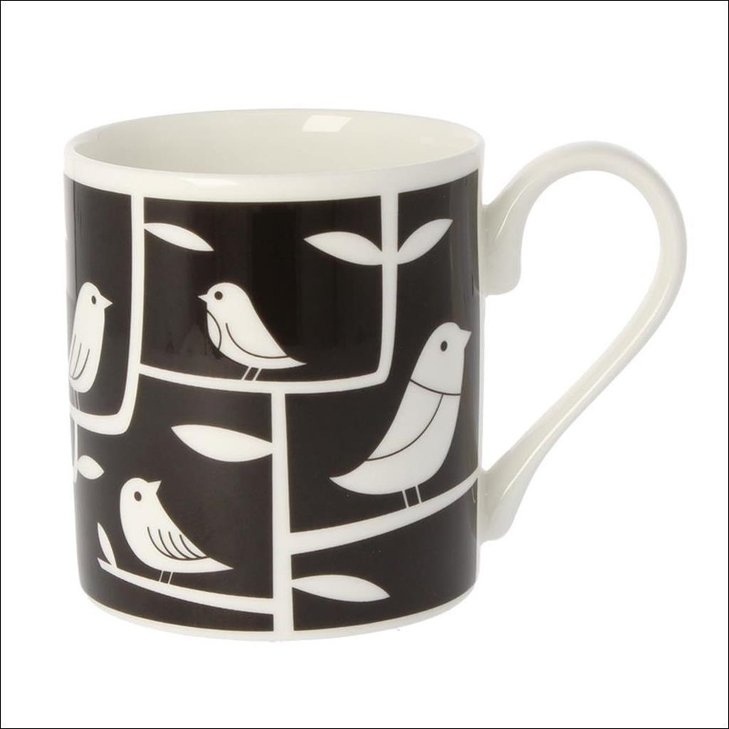 MUG White Bird