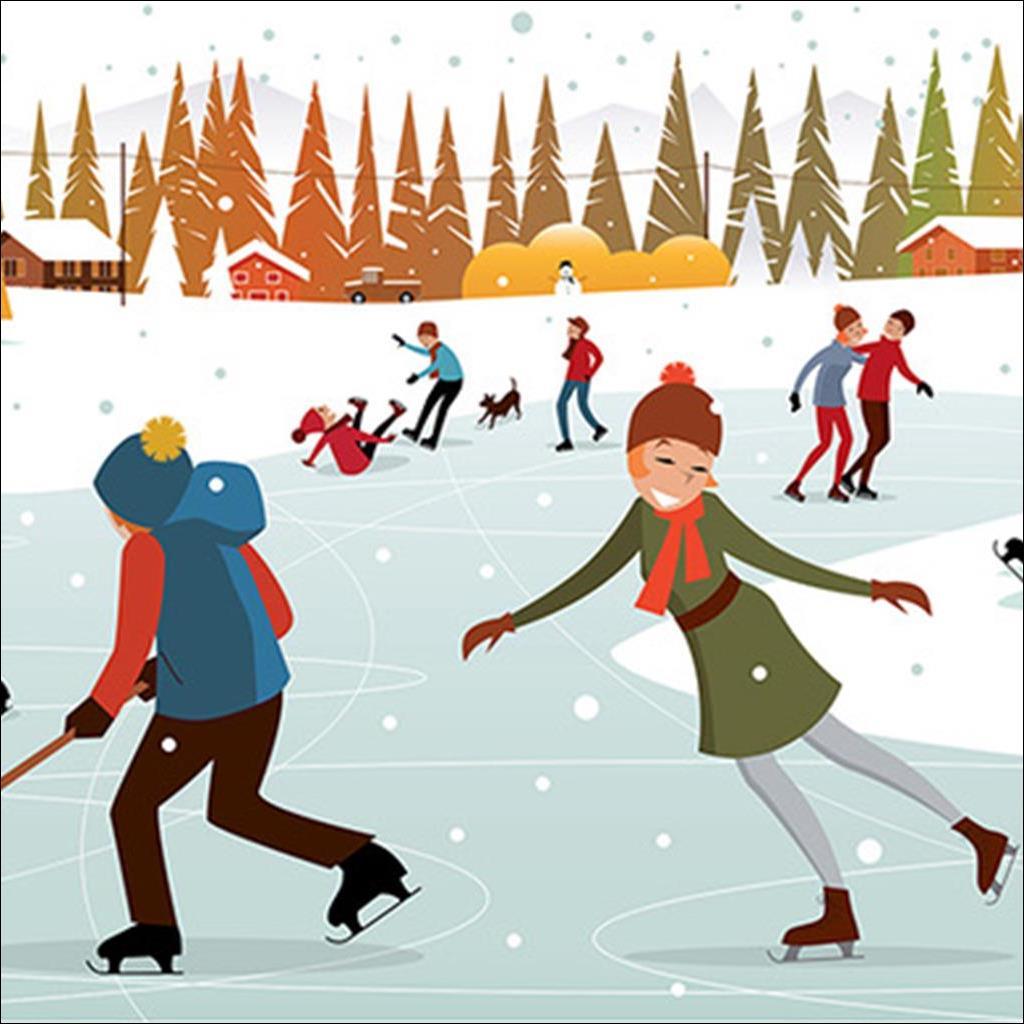 Sunday on ice