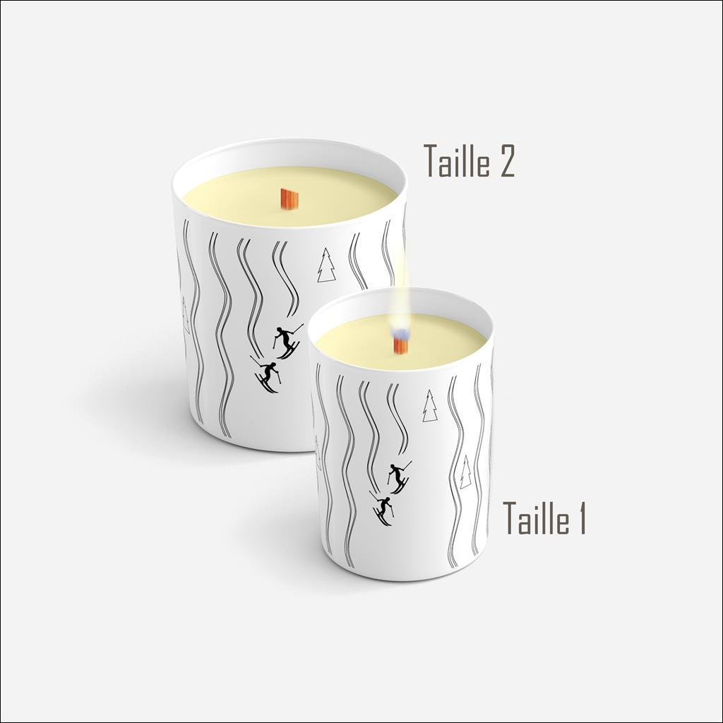 Ski Tracks Candle - FIR