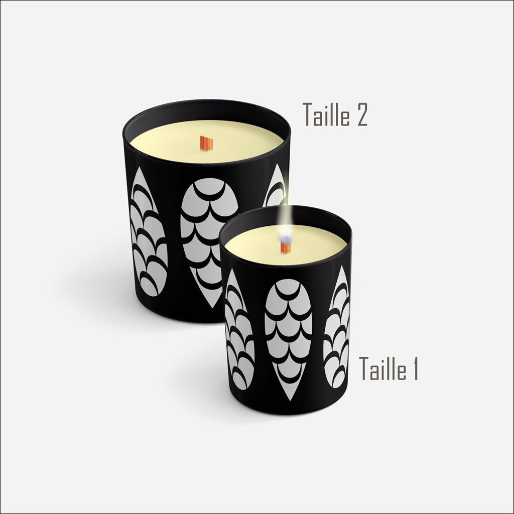 Pine cone Candle - CHRISTMAS EVE