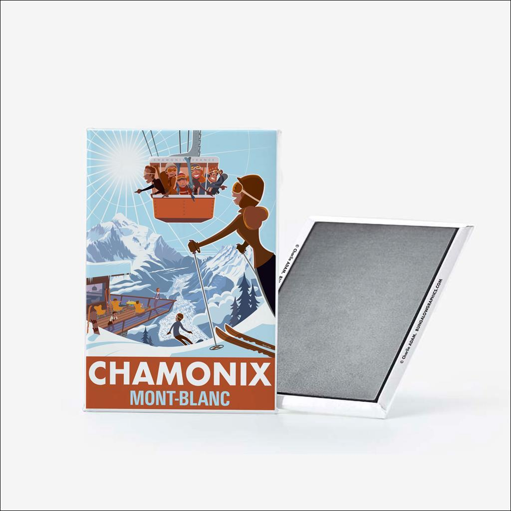 Magnet Chamonix Vallée
