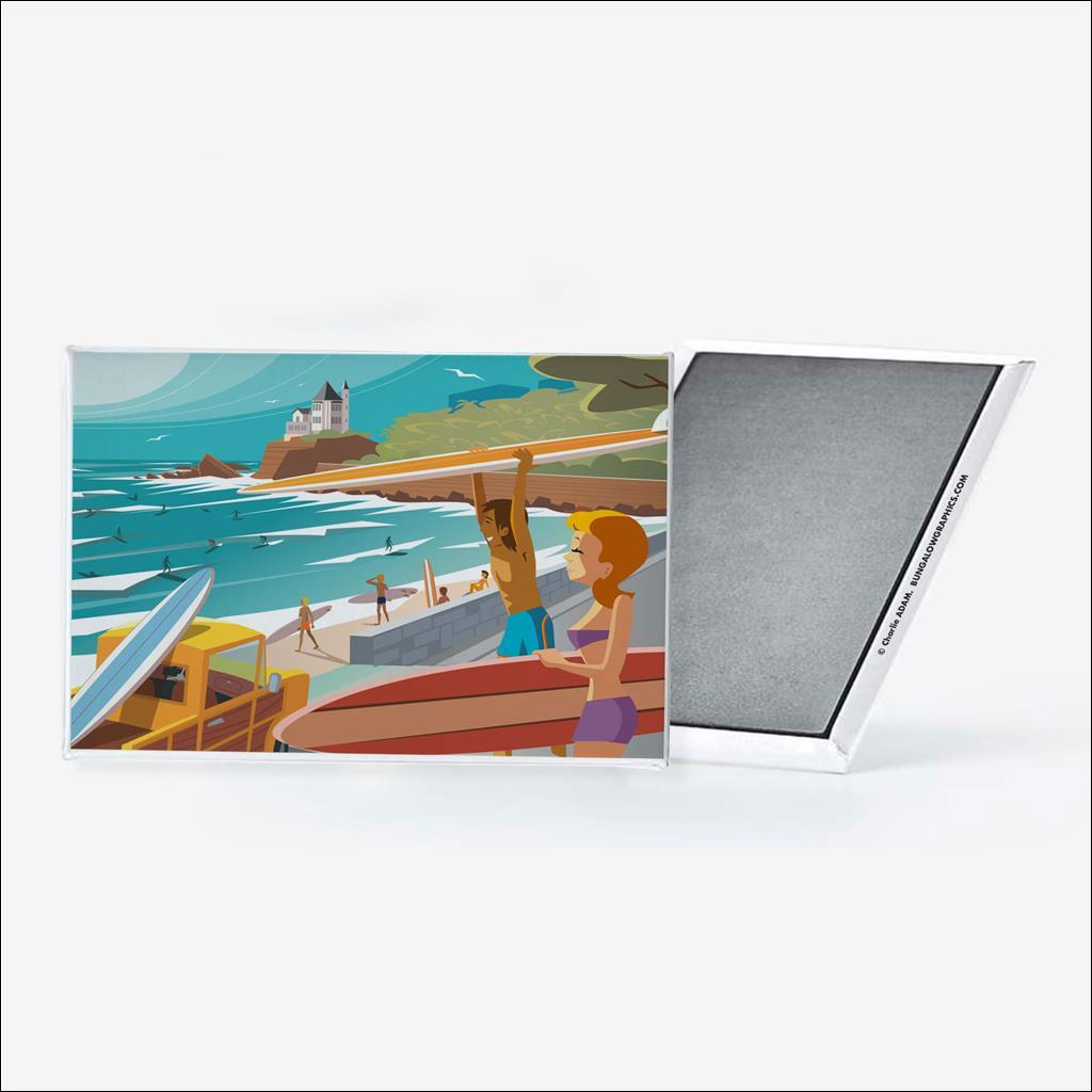 Magnet Surf's up couleur