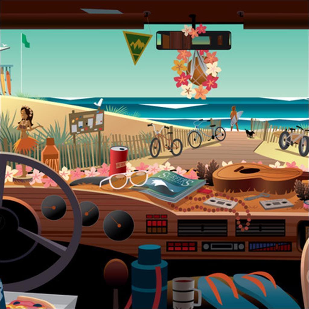 Summer dashboard