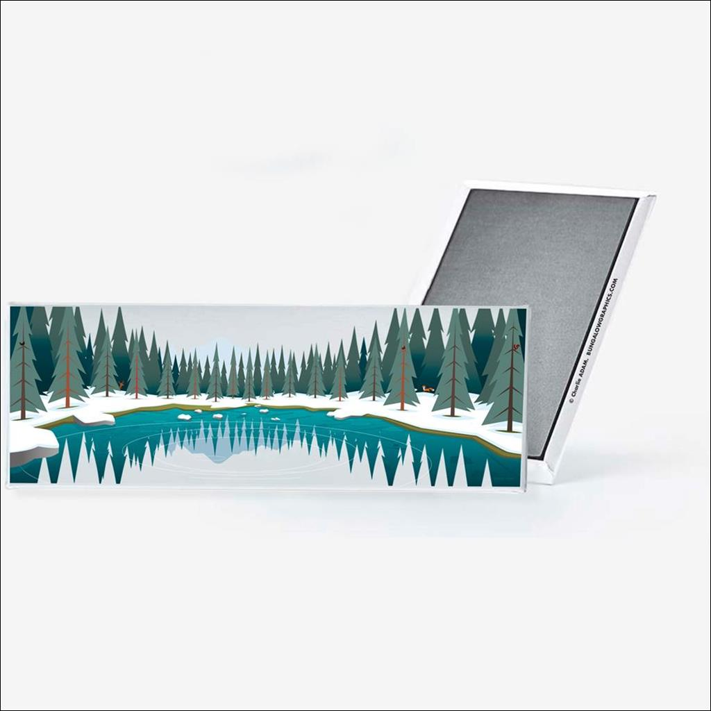 Magnet Lac Vert
